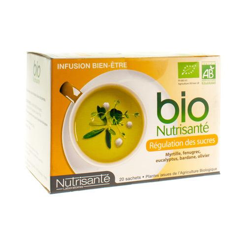 Infusie Bio Cholesterol&suiker Zakje 20