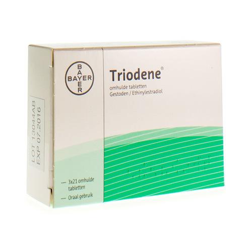 Triodene (3 X 21 Comprimes)