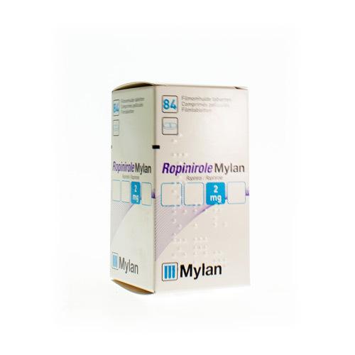 Ropinirole Mylan 2 Mg (84 Comprimes)