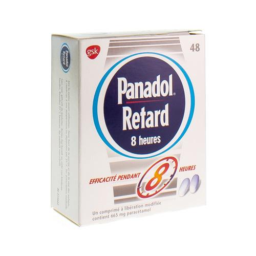 Panadol Retard 8 Heures 665 Mg (48 Comprimes)