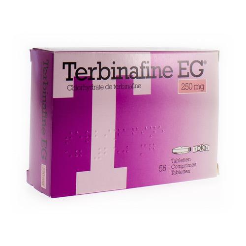 Terbinafine EG 250 Mg (56 Comprimes)