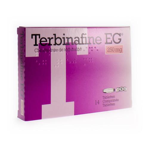 Terbinafine EG 250 Mg (14 Comprimes)