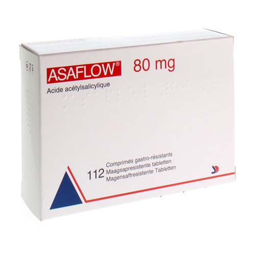 Asaflow 80 Mg  112 Comprimes