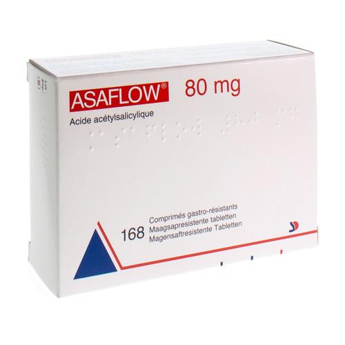 Asaflow 80 Mg  168 Comprimes