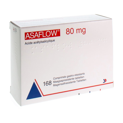 Asaflow 80 Mg  168 Tabletten