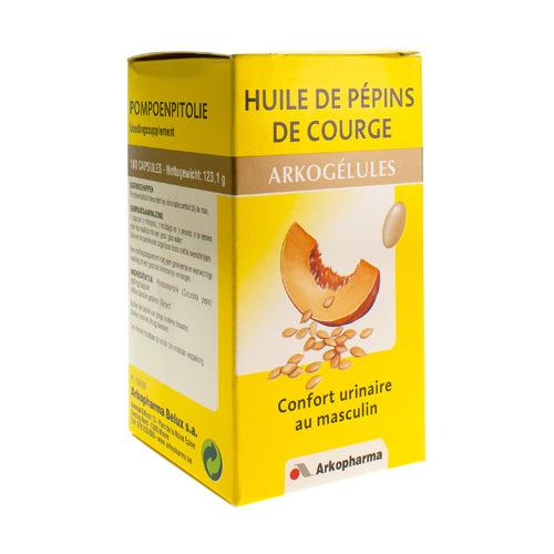 Arkocaps Huile De Pepins De Courge  180 Capsules