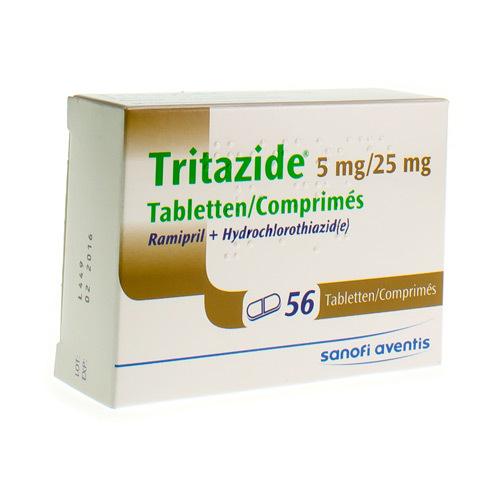 Tritazide 5 Mg / 25 Mg (56 Comprimes)
