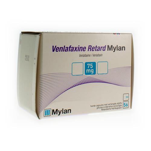 Venlafaxine Mylan Retard 75 Mg (56 Gelules)