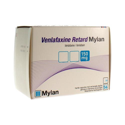 Venlafaxine Mylan Retard 150 Mg (56 Gelules)