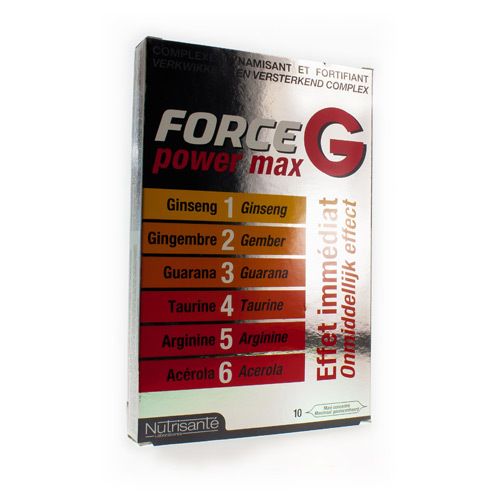 Forge G Power Max (10 Ampullen)