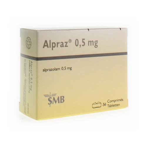 Alpraz 0,5 Mg  56 Comprimes
