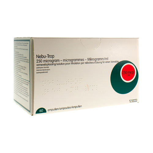 Nebu-Trop 250 Mcg/1 Ml (60 Ampoules)