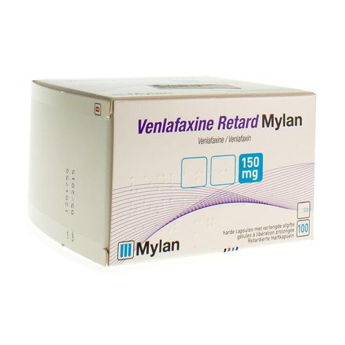 Venlafaxine Mylan Retard 150 Mg (100 Gelules)