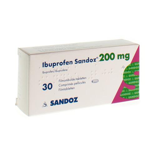 Ibuprofen Sandoz 200 Mg (30 Comprimes)