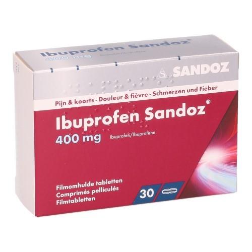 Ibuprofen Sandoz 400 Mg (30 Comprimes)