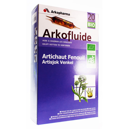 Arkofluide Artichaut 15Ml 20Amp