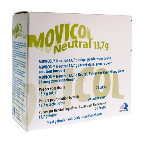 Movicol Neutral 13,7 G (20 Sachets)