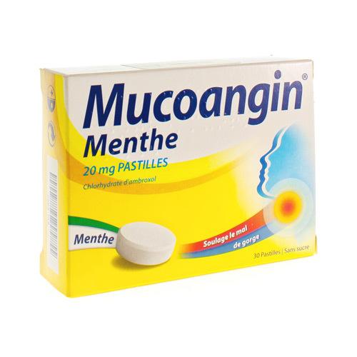 Mucoangin Menthe 20 Mg (30 Pastilles)