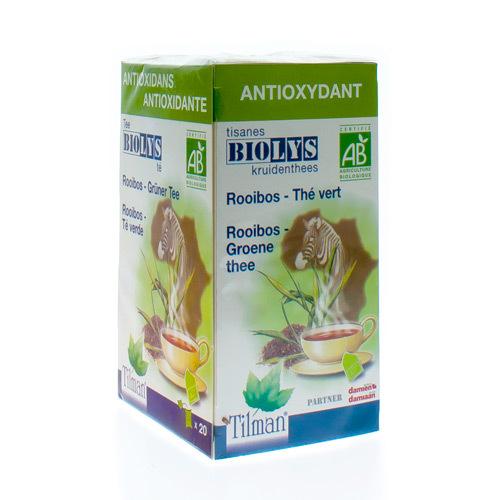 Biolys Rooibos Groen Bio  20 Tea-Bags