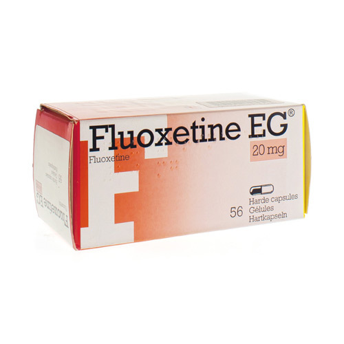 Fluoxetine Eg Pi Pharma Caps 56 X 20mg Pip