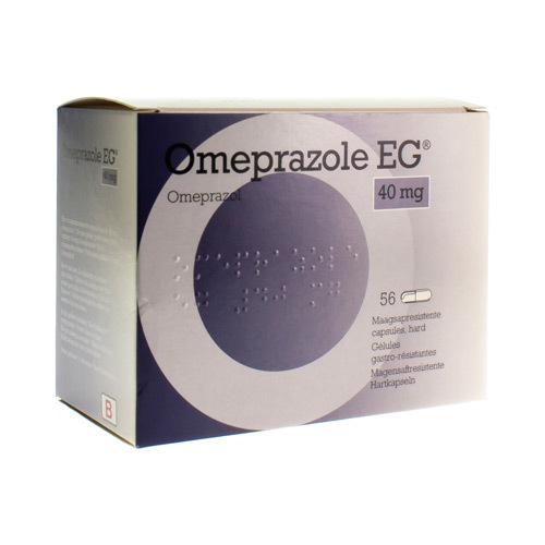 Omeprazole EG Pi Pharma 40 Mg (56 Gelules)