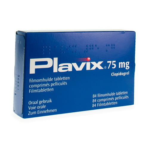 Plavix 75 Mg (84 Comprimes)