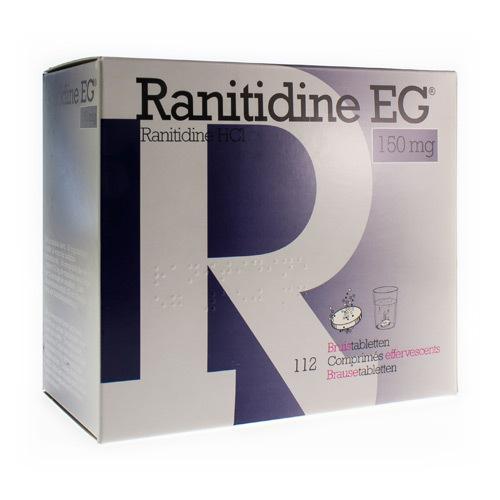 Ranitidine EG 150 Mg (112 Comprimes Effervescents)