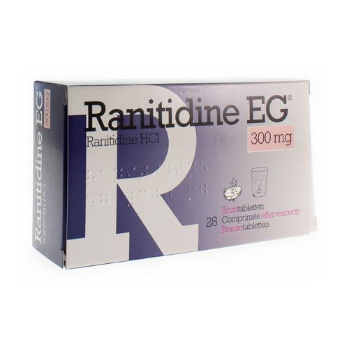 Ranitidine EG 300 Mg (28 Comprimes Effervescents)
