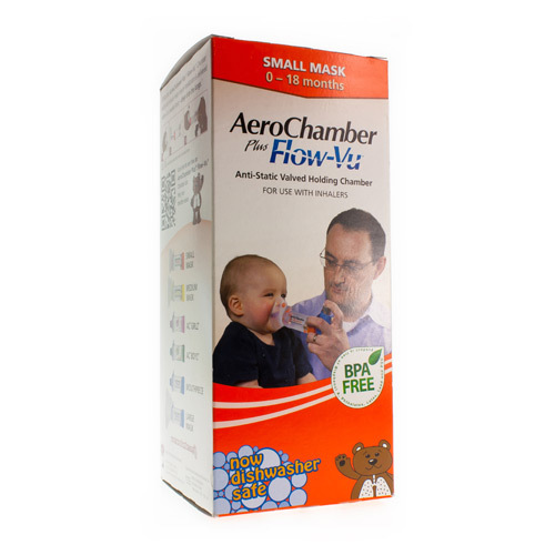 Aerochamber Plus Flow-Vu Baby