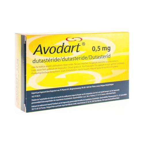 Avodart Pi Pharma 0,5 Mg  30 Capsules