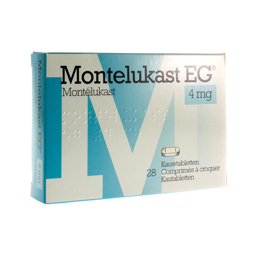 Montelukast EG 4 Mg (28 Comprimes a  Croquer)