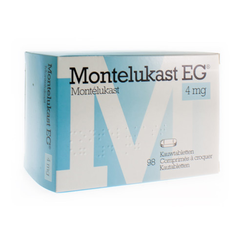 Montelukast EG 4 Mg (98 Comprimes a  Croquer)