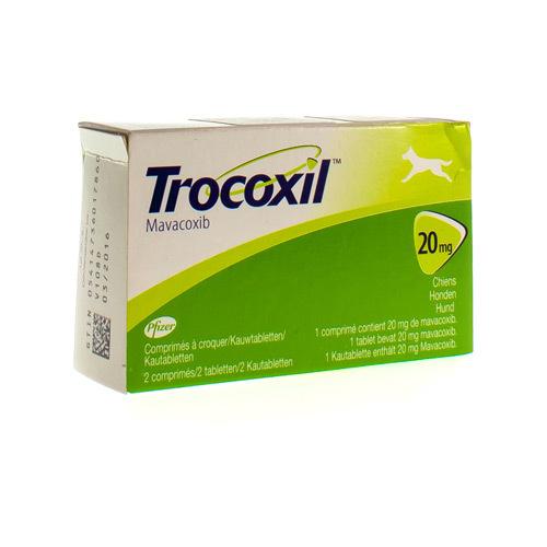Trocoxil Veterinaire 20 Mg (2 Comprimes a Croquer)