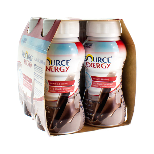 Resource Energy Chocolat (4 X 200 Ml)