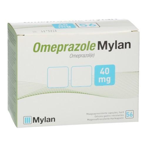 Omeprazole Mylan 40 mg Pi Pharma Caps 56X40mg Pip