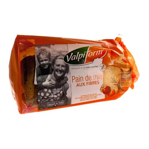 Valpi Pain De Mie Fibres Sans Gluten 300 G 4057