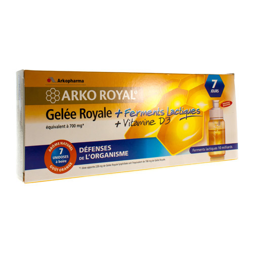Arkoroyal Probiot. Adult Ruche Royale Doses  7 X 7,5 Ml