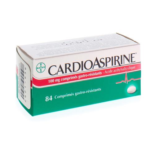 Cardioaspirine 100 Mg  84 Comprimes Gastro-Resistant