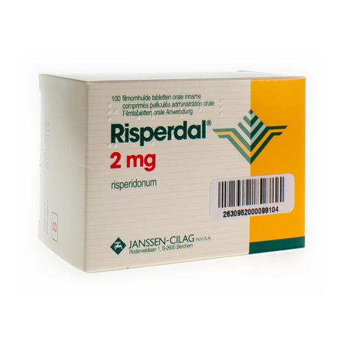 Risperdal Pi Pharma 2 Mg (100 Comprimes)