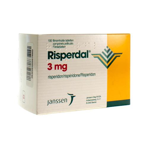 Risperdal Pi Pharma 3 Mg (100 Comprimes)