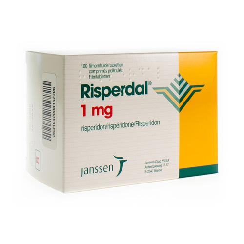 Risperdal Pi Pharma 1 Mg (100 Comprimes)