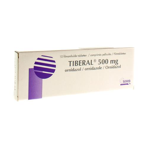 Tiberal 500 Mg (10 Tabletten)