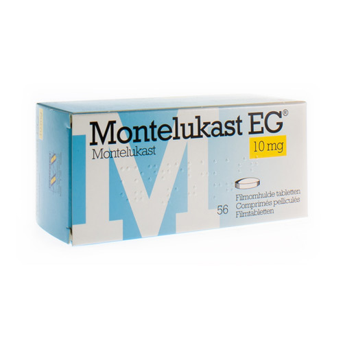 Montelukast EG 10 Mg (56 Comprimes)