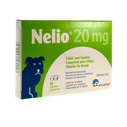 Nelio Veterinaire 20 Mg (10 Comprimes)