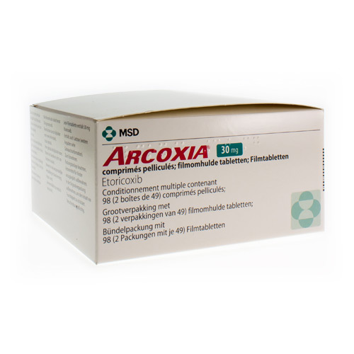 Arcoxia 30 Mg  98 Comprimes