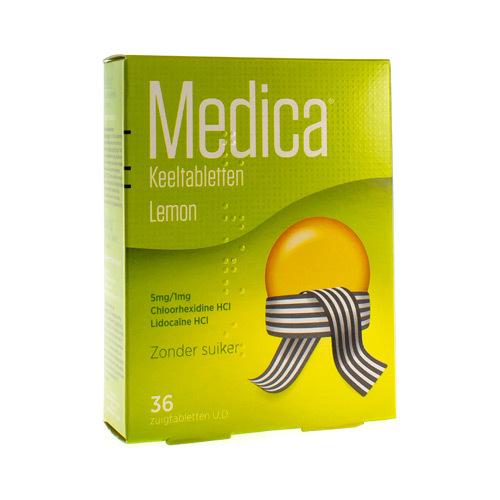 Medica Lemon (36 Zuigtabletten)