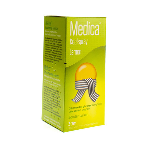 Medica Spray Lemon (30 Ml)