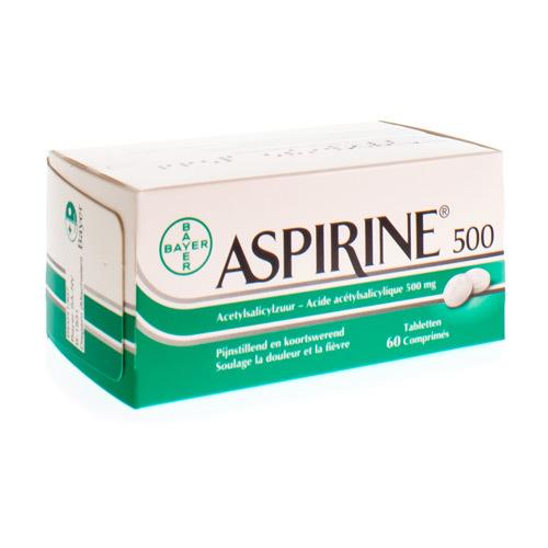 Aspirine 500 Mg  60 Comprimes