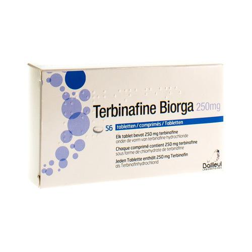 Terbinafine Biorga 250 Mg (56 Comprimes)