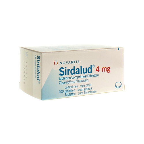Sirdalud 4 Mg (100 Comprimes)